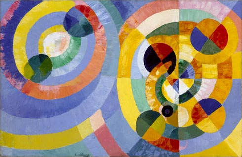 Circular Forms, Oil On Canvas by Robert Delaunay (1885-1941, France)