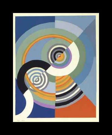 Rhythm by Robert Delaunay (1885-1941, France) | Museum Quality Reproductions | ArtsDot.com