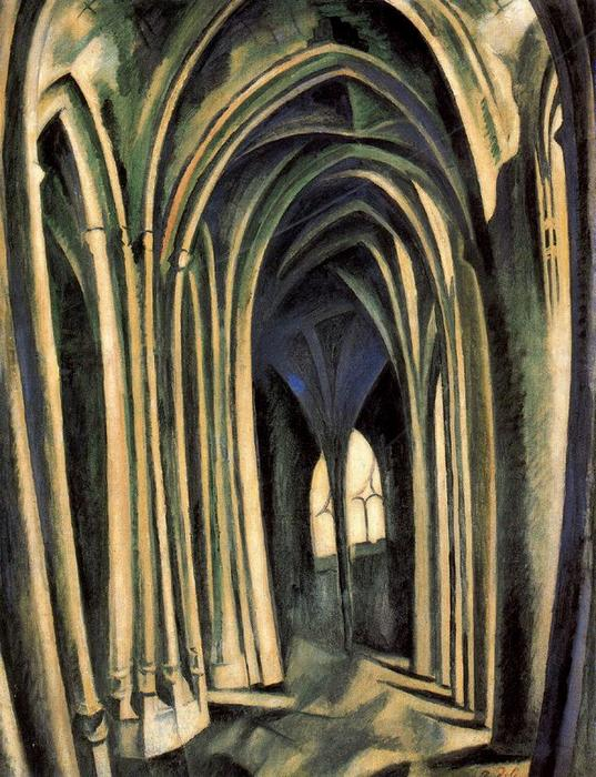 St. Severin, No. 3  by Robert Delaunay (1885-1941, France)