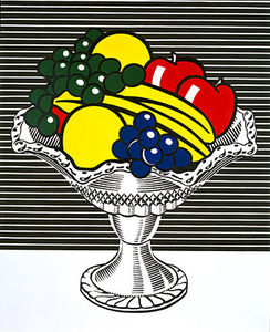 Roy Lichtenstein - Still life with crystal bowl