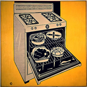 Roy Lichtenstein - Kitchen range