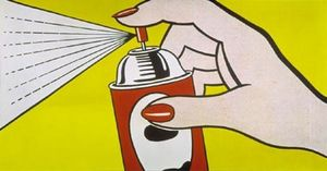 Roy Lichtenstein - Spray
