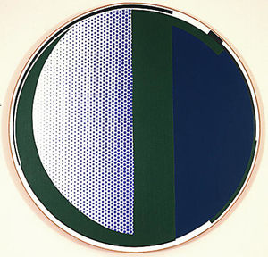 Roy Lichtenstein - Mirror