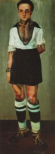 Salvador Dali - Portrait of Jaume Miravidles as a Footballer
