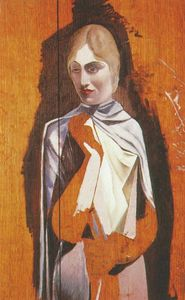 Salvador Dali - Portrait of a Woman, (unfinished)