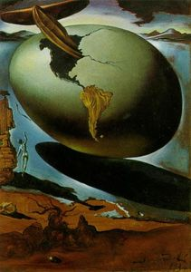 Salvador Dali - Allegory of an American Christmas