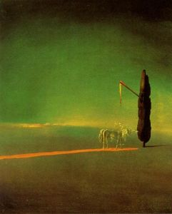 Salvador Dali - Eclipse and Vegetable Osmosis