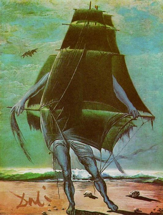 The Ship, 1935 by Salvador Dali (1938-1989, Spain) |  | ArtsDot.com