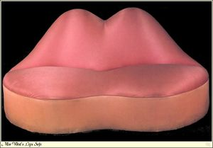 Salvador Dali - Mae West Lips Sofa