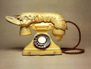 Salvador Dali - Lobster Telephone
