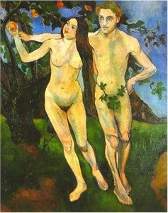 Suzanne Valadon - Adam and Eve