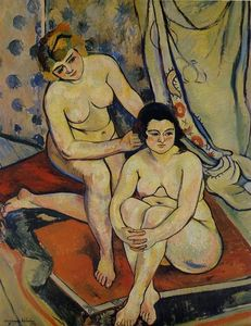 Suzanne Valadon - The Two Bathers