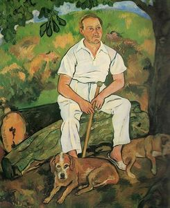 Suzanne Valadon - Andre Utter and His Dogs
