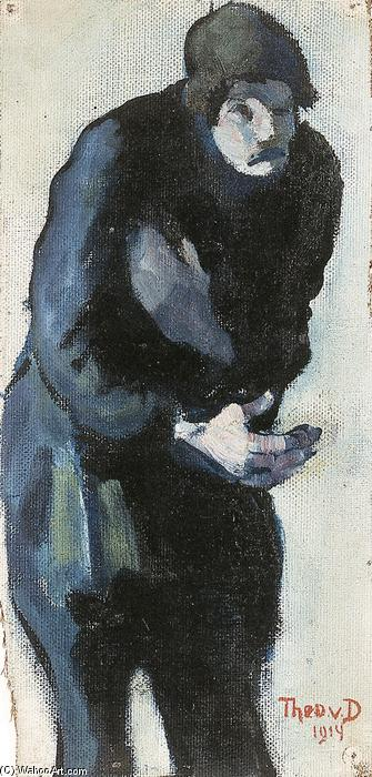 Beggar, 1914 by Theo Van Doesburg (1883-1931, Netherlands) | Painting Copy | ArtsDot.com