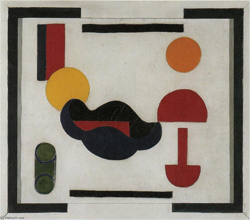Still Life (Composition V), 1916 by Theo Van Doesburg (1883-1931, Netherlands) | Museum Art Reproductions | ArtsDot.com
