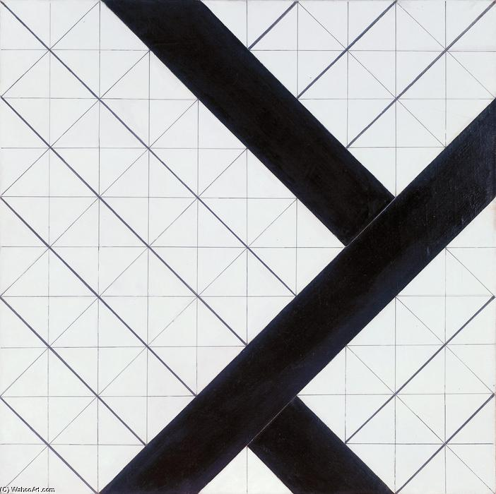 Counter composition VI, 1925 by Theo Van Doesburg (1883-1931, Netherlands) | ArtsDot.com