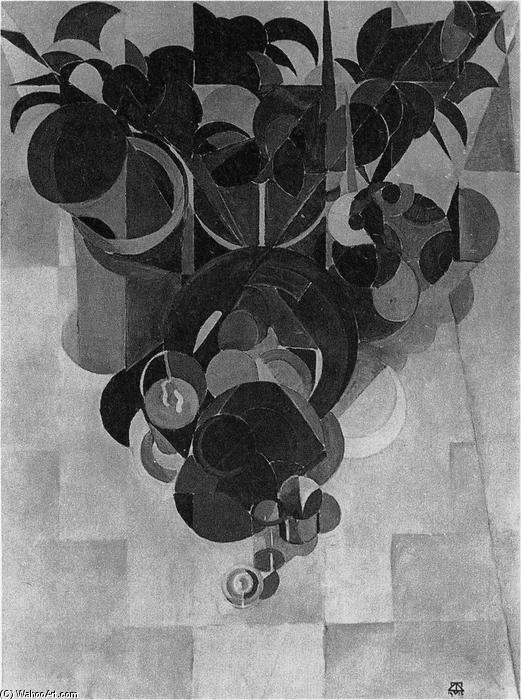 Composition IV (Still life), 1916 by Theo Van Doesburg (1883-1931, Netherlands) | Museum Quality Reproductions | ArtsDot.com