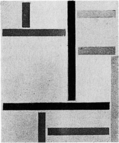 Composition XXV, Oil On Canvas by Theo Van Doesburg (1883-1931, Netherlands)