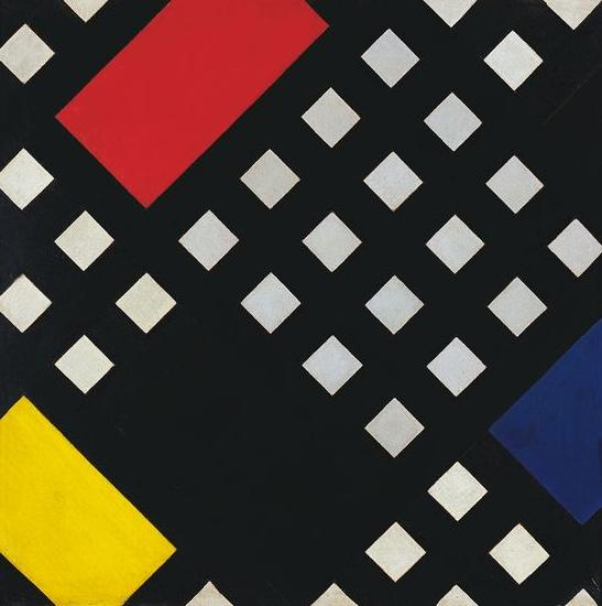 Counter composition XV, 1925 by Theo Van Doesburg (1883-1931, Netherlands)