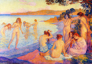 Theo Van Rysselberghe - The burning time