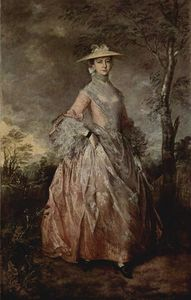 Thomas Gainsborough - Portrait of Mary Countess Howe