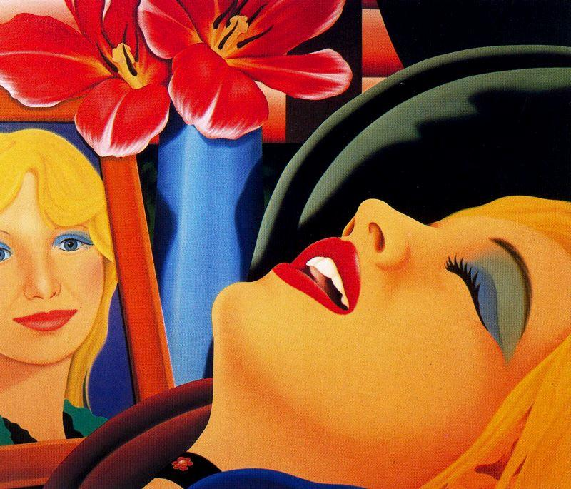Bedroom Painting #38, Oil On Canvas by Tom Wesselmann (1931-2004, United States)