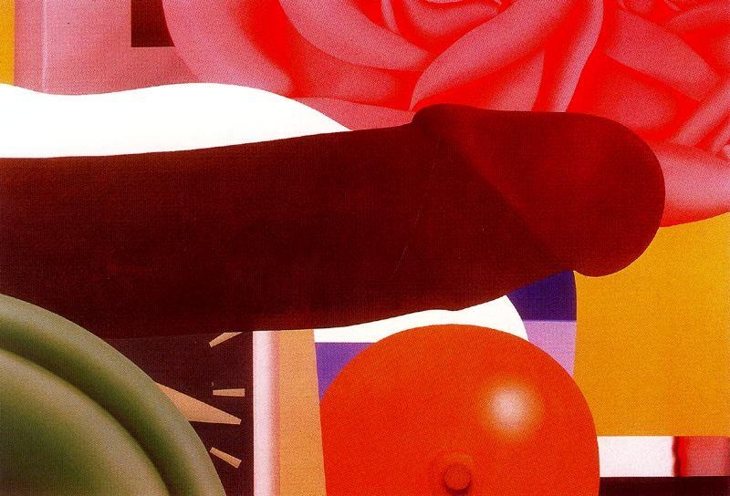 Bedroom Painting by Tom Wesselmann (1931-2004, United States)