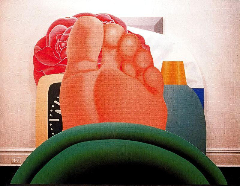 Bedroom Painting by Tom Wesselmann (1931-2004, United States) | Museum Art Reproductions | ArtsDot.com