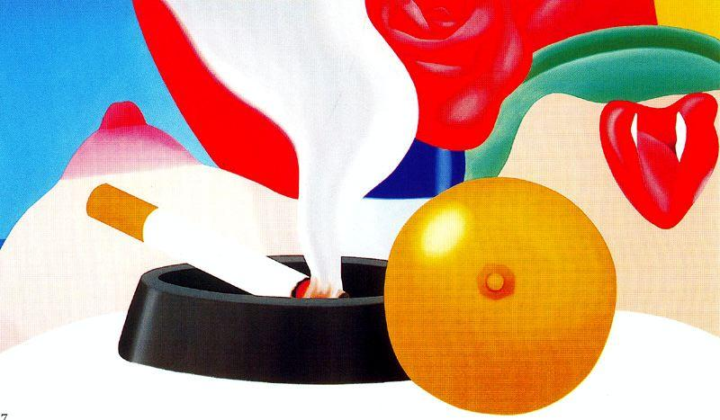 Bedroom Painting (8) by Tom Wesselmann (1931-2004, United States)