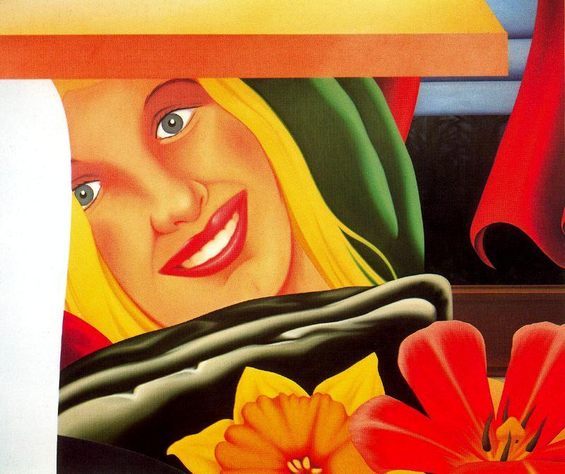 Bedroom Painting (9) by Tom Wesselmann (1931-2004, United States)
