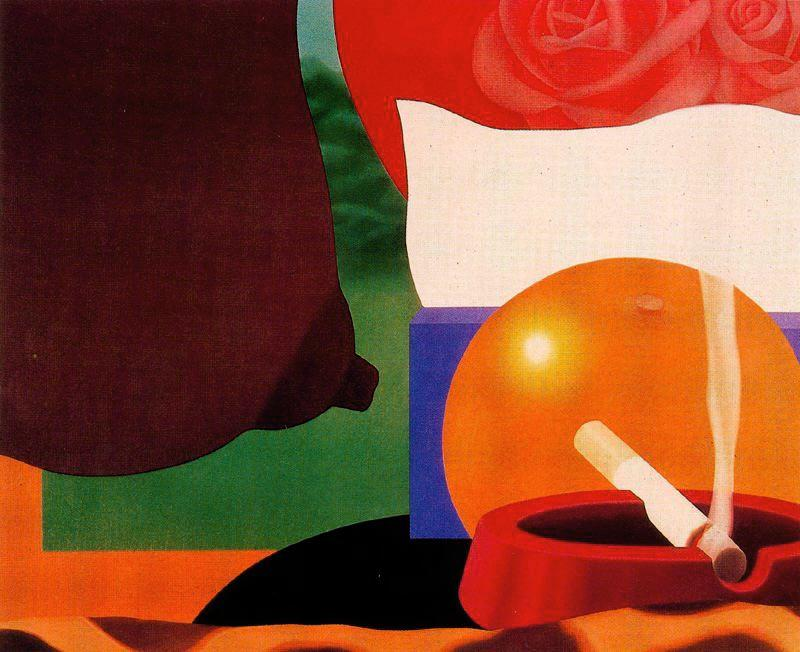 Bedroom Painting #13 by Tom Wesselmann (1931-2004, United States) |  | ArtsDot.com
