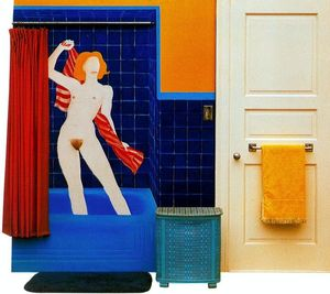 Tom Wesselmann - Collage with bather