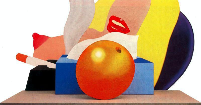 Great American Nude No.99 by Tom Wesselmann (1931-2004, United States)