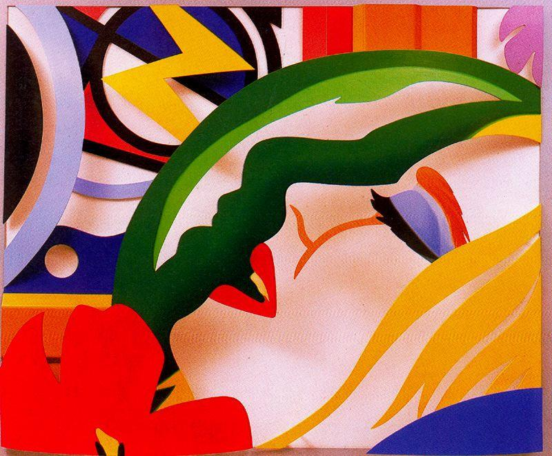Lichtenstein bedroom face by Tom Wesselmann (1931-2004, United States)