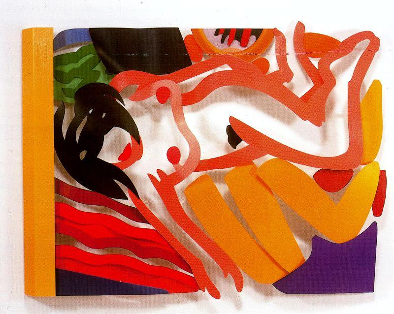 Nude with arm down by Tom Wesselmann (1931-2004, United States)