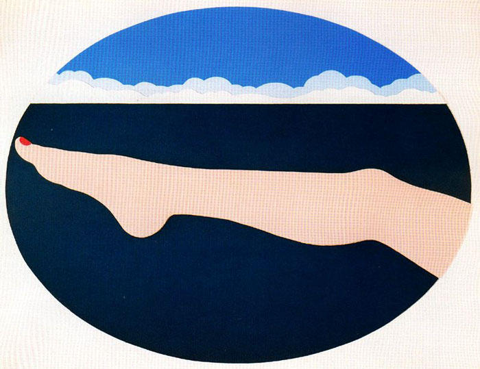 Seascape # 10 by Tom Wesselmann (1931-2004, United States)