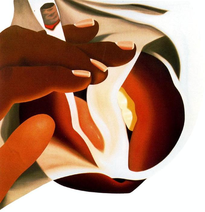 Smoker by Tom Wesselmann (1931-2004, United States)