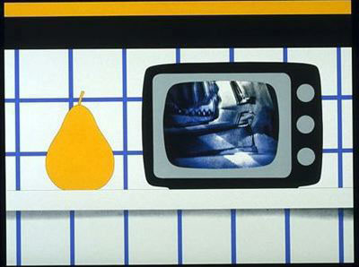 TV Still Life by Tom Wesselmann (1931-2004, United States)