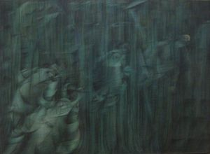 Umberto Boccioni - States of Mind III: Those Who Stay