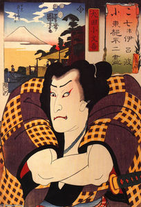 Utagawa Kuniyoshi - The actor