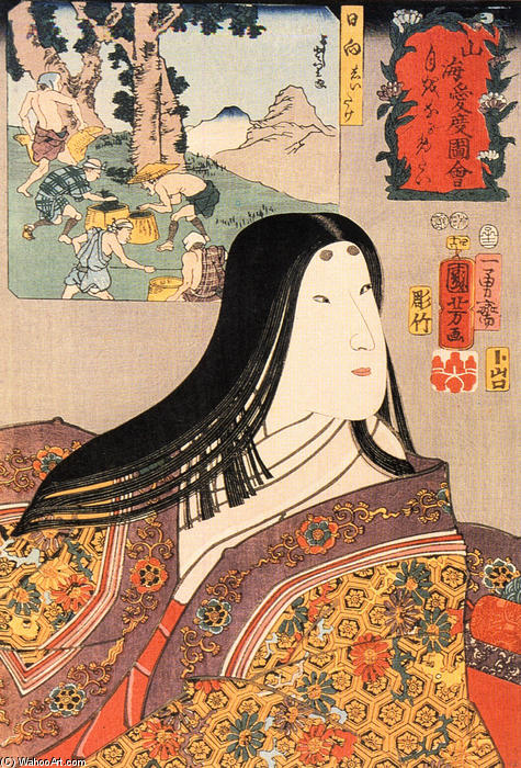 "japanese art style ukioye Japanese art and bunjinga dieter wanczura further comments that ""the impressionists saw ukiyo-e art (japanese the eclipse of ukiyo-e by western style art."