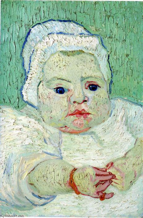 The Baby Marcelle Roulin, 1888 by Vincent Van Gogh (1853-1890, Netherlands) | Reproductions Vincent Van Gogh | ArtsDot.com