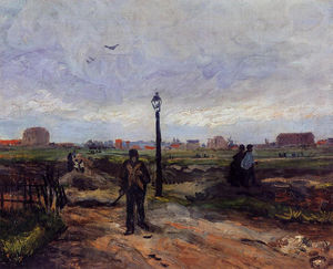 Vincent Van Gogh - The Outskirts of Paris
