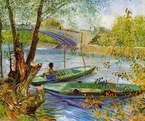Vincent Van Gogh - Fishing in the Spring