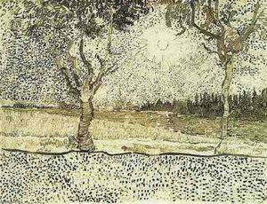 Vincent Van Gogh - The Road to Tarascon