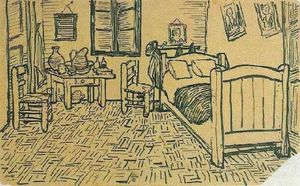Vincent Van Gogh - Vincent-s Bedroom in Arles