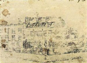 Vincent Van Gogh - Vincent-s Boarding House in Hackford Road, Brixton, London