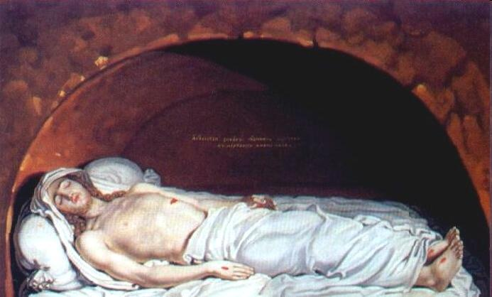 Order Museum Quality Copies | Jesus at the tomb by Vladimir Lukich Borovikovsky (1757-1825) | ArtsDot.com