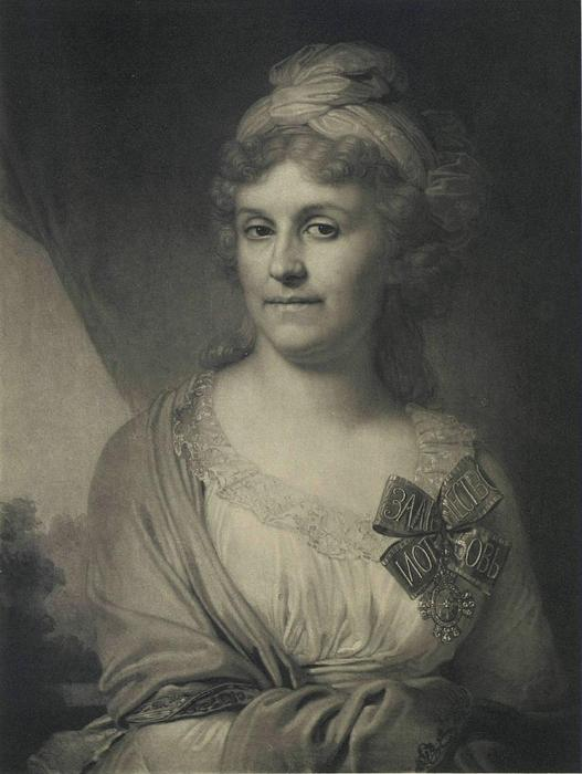 Darya Alexandrovna Valuev by Vladimir Lukich Borovikovsky (1757-1825) | Art Reproduction | ArtsDot.com