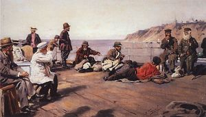 Vladimir Yegorovich Makovsky - On Deck